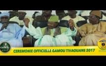 "VIDEO - Cérémonie Officielle du Gamou de Tivaouane 2017 - ""Béneu Djeumeu , Béneu Xalaat , Béneu Kaddu"""