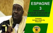 VIDEO - ESPAGNE - BARCELONE : Suivez la conférence du Dahiratoul Moutahabina Fillahi présidée par Serigne Habib Sy Mansour - Animations Sam Mboup.