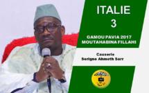VIDEO - ITALIE - PAVIA : Suivez le Gamou du Dahiratoul Moutahabina Fillahi de Pavia Voghera tenu le Dimanche 24 Dècembre 2017 présidé par Serigne Ahmed Sarr et animé par Cheikh Diop et son groupe