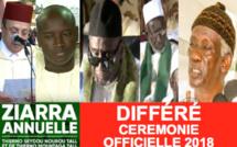 REPLAY - Revivez la Cérémonie Officielle de la Ziarra Omarienne 2018 - Discours des Familles Religieuses, du Ministre de l'intérieur, de Serigne Mbaye Sy Abdou, THierno Madani et du Khalif Thierno Bachir Tall