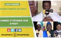 ANNONCE - Suivez l'avant-premiere du Gamou annuel de Pout, ce Samedi 17 Février, sous la presidence de Serigne Mouhamadou Lamine Niang ibn El Hadj Tidiane Niang (rta)
