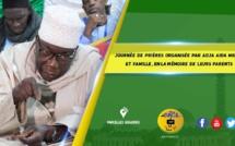 VIDEO - Suivez la Journée de Prières organisée par Adja Aida Mbaye et famille, en la mémoire de leurs parents, presidée par Serigne Babacar Kane ibn Sokhna Oumou Kalsoum Sy Babacar