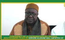 ANNONCE - Conférence de Diamalaye du 12 Mai 2018 - Suivez L'appel de la Coordination des dahiras Moutahabina Filahi dirigée par Serigne Alioune Sall Safiétou