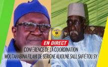 [REPLAY] DIAMALAYE - Revivez l'intégralité de la Conférence  Moutahabina FIlahi de Serigne Alioune Sall Safiétou SY, présidée par le Khalif Serigne Babacar SY Mansour