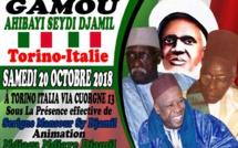 DIRECT ITALIE - Suivez le Gamou Ahiba'i Seydi Djamil de Torino animé par Serigne Mansour Sy Djamil