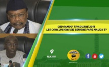 CRD Gamou Tivaouane 2018 - Le Message du Khalif délivré par Serigne Pape Malick SY