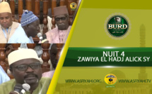 Burd 2018 - Nuit 4 - Zawiya El Hadj Malick Sy - Causerie du Khalif et de Serigne Pape Diop