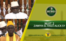 Burd 2018 - Nuit 2 - Zawiya El Hadj Malick Sy - Causerie du Khalif et de Dr Bachir Ngom