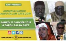 VIDEO -  Suivez L'annonce du Gamou Darou Salam GAYE en Hommage à Serigne Moustapha Sy Djamil le Samedi 12 Janvier 2019