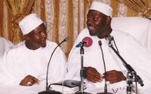 Sergne Moustapha Sy Abdou en Compagnie de Imam Khalifa Babacar Ndiaye President du Dahira