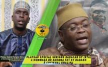 VIDEO -  Plateau Spécial Serigne Babacar SY (rta) L'hommage de Sokhna Fat Sy Dabakh à Cheikhal Khalifa