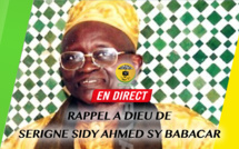 REPLAY RUE THIERS - Ceremonie troisieme jour du rappel à Dieu de Serigne Sidy Ahmed Sy Babacar