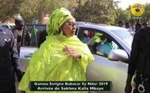 "Vidéo - Gamou Serigne Babacar SY ""Ndar 2019"" : Arrivée de Sokhna Kalla Mbaye à Saint Louis"