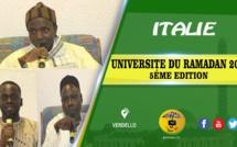VIDEO - ITALIE - BERGAMO : Suivez l'ouverture de l'Université du Ramadan 5éme édition organisée par la Dahiratoul Moustarchidina Wal Moustarchidati Axe Europe Section Bergamo