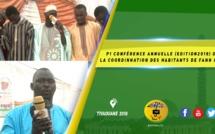 VIDEO -  Conférence Annuelle de la Coordination des Habitants de Fann Hock - Edition 2019