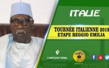 ITALIE -TOURNEE ITALIENNE 2019  Etape Reggio Emilia: Causerie Serigne Babacar Sy Mansour