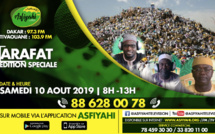 DIRECT ASFIYAHI FM - Edition Speciale Taxawaayou Arafat avec nos Correspondants