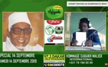 REPLAY - SPECIAL 14 SEPTEMBRE 2019  - HOMMAGE A MAME ABDOU AZIZ SY DABAKH - Invité Oustaz Mansour Fall et Serigne Pape Khalifa Ndiaye