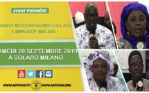 ITALIE - MILAN: Suivez l'avant première Takussane Borom Daradji  du Dahiratoul Moutahabina Fillahi Limbiate le Samedi 28 Septembre 2019 à Solaro Milan