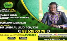 DAROUL HABIBI DU MARDI 22 OCTOBRE 2019 PRÉSENTÉ PAR MOUHAMED MBAYE DJAMIL