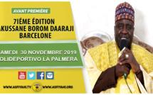 ESPAGNE -Appel de Serigne Habib Sy Mansour 7iéme édition Takussane Borom Daara Ji Samedi 30 Novembre 2019 et animé par El hadji Sam Mboup