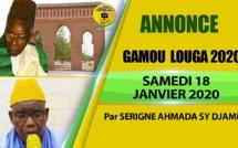 ANNONCE - Gamou Louga SEYDI DJAMIL 2020 - SAMEDI 18 JANVIER - L'Appel de Serigne Ahmada Sy Djamil