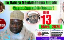 Gamou Annuel du Dahiratoul Moutahabina Fillahi de Gorom 1, Vendredi 13 Mars 2020, sous la présidence de Serigne Habib Sy Mansour