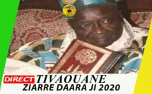DIRECT TIVAOUANE - Ziarra DaaraJi 2020 en hommage à Serigne Mansour Sy Borom  Daara Ji