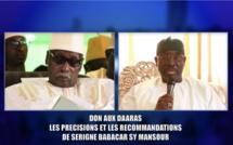 MISE A JOUR - VIDEO - COLLECTE DE FONDS POUR AIDER LES DAARAS: Les précisions et les Recommandations du Khalif General des Tidianes