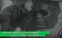 VIDEOS : Serigne Abdoul Aziz Sy Dabakh parle de Seydil Hadj Malick Sy (rta)