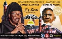 Le Gamou sera célébré dans la nuit du Samedi 3 au Dimanche 4 Janvier 2015