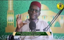 Pape Khalifa NDIAYE rend hommage à feu Serigne Abdoul Aziz SY Djamil