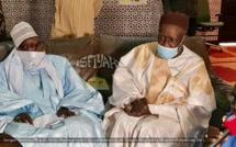 PHOTOS - FASS - Serigne Bassirou Mbacke Abdouhadre presente les condoléances de Serigne Mountakha Mbacké, Khalif General des Mourides