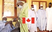 VIDEO - GRANDE MOSQUÉE DE TIVAOUANE - Serigne Babacar Sy Mansour reçoit la Contribution du Canada et délivre un vibrant Message