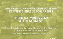 TIVAOUANE VILLE VERTE - Lancement d'une Campagne de Reboisement de 15.000 Arbres