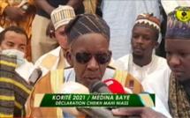 Médina Baye - Korité 2021 : le message du khalif Cheikh Mahi Ibrahima NIASS