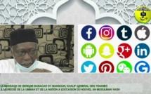 SOCIETE - Dérives sociales, invectives, réseaux sociaux : Le khalife général des Tidianes condamne ces contrevaleurs qui prennent des proportions inquiétantes