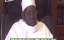 VIDEO - Les recommandations  de Serigne Abdoul Aziz Sy Al Amine pour ce Vendredi 18 Septembre 2015