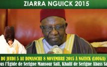 VIDEO - ZIARRA NGUICK 2015 - Du 5 au 8 Novembre : Suivez l'appel de Serigne Mansour Sall, Khalif de Serigne Abass Sall (rta)