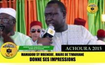 VIDEO - ACHOURA 2015 - Le Maire de Tivaouane Mamadou SY Mbengue donne ses impressions