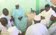 TOUBA - Le Khalif Thierno Bachir Tall reçu par le Khalif Cheikh Sidy Mokhtar Mbacké