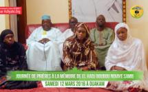 VIDEO - Suivez l'Avant-Première de la Journée de Prière à la mémoire d'El Hadj Boubou Ndiaye Samb, Samedi 12 Mars 2016 à Ouakam