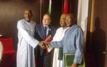 DESTINATION DAKAR-FÉZ-DAKAR-  Signature d'une convention de partenariat entre L'Office national marocain du tourisme et les grandes familles Tidianes du Senegal