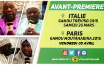 VIDEO - Suivez l'avant-première du Gamou de Tréviso (Italie), ce Samedi 26 Mars 2016 et Moutahabina Filahi de Paris, Vendredi 8 Avril 2016
