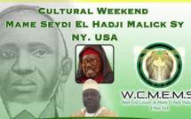 "USA - Weekend Culturel El Hadj Malick Sy (rta), ""Maodo"" célébré les Vendredi 27 et Samedi 28 Mai 2016 à New-York"