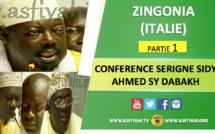 VIDEO - ZINGONIA (ITALIE) - Suivez la Conférence de Clôture de la tournée Italienne 2016 de Serigne Sidy Ahmed Sy Dabakh